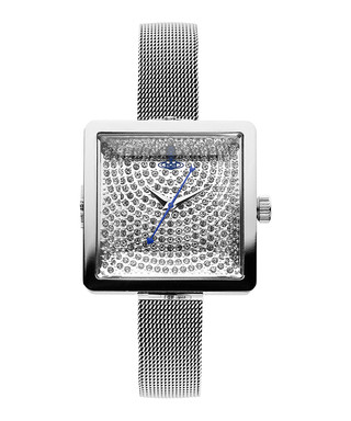 634928f4a8ad9 Lady Cube silver-tone   crystal watch Sale - Vivienne Westwood Sale