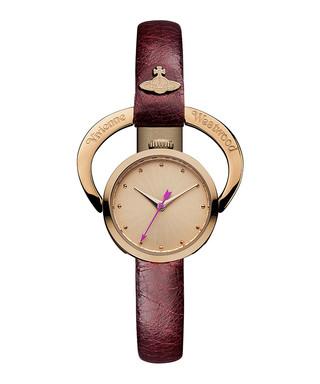 236074015c37b Horseshoe red leather slim watch Sale - Vivienne Westwood Sale