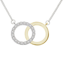 Forever 14ct gold-plated necklace