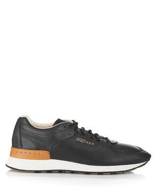 516a658c78c3 Men s Ruffien II black leather sneakers Sale - PUMA by Alexander McQueen  Sale