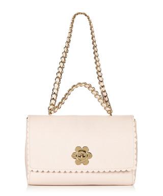 3da70a81921d Flower pale pink leather shoulder bag Sale - Mulberry Sale