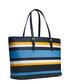 Jet Set navy stripe leather multi tote Sale - Michael Kors Sale