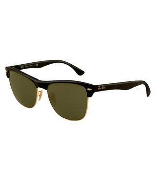 6da4106dfd1 Clubmaster matte black sunglasses Sale - Ray-Ban Sale