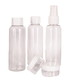 3pc transparent travel bottle set Sale - les bagagistes Sale