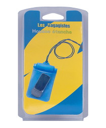 Blue phone cover