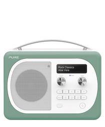 Evoke D4 Mio green DAB digital radio