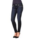 Stella dark blue cotton blend jeans