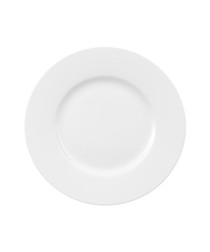 Royal white porcelain salad plate