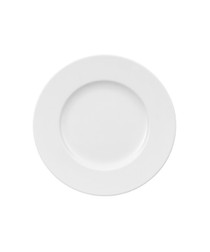 Image of Royal white porcelain bread plate