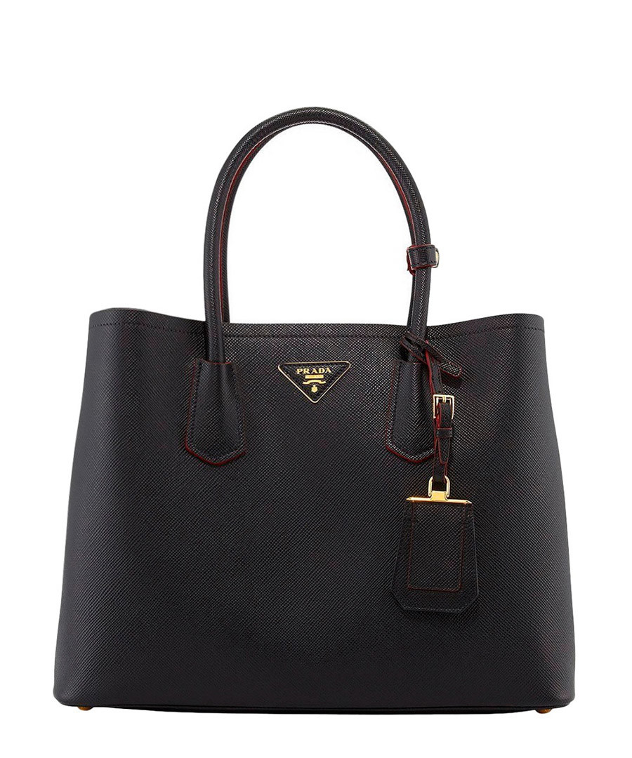 Black saffiano leather tote bag Sale - Prada