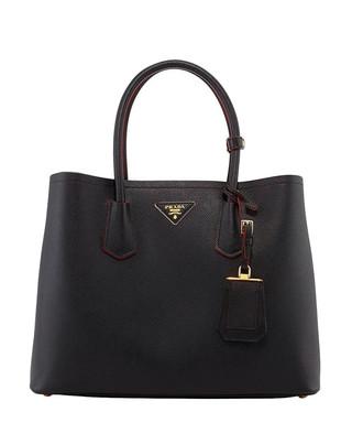 07e13760fb63 Black saffiano leather tote bag Sale - Prada Sale