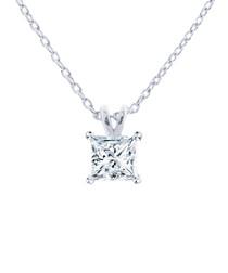 Princess crystal necklace