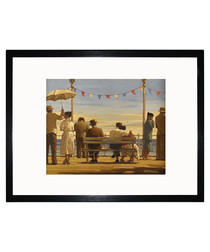 The Pier framed print 35cm