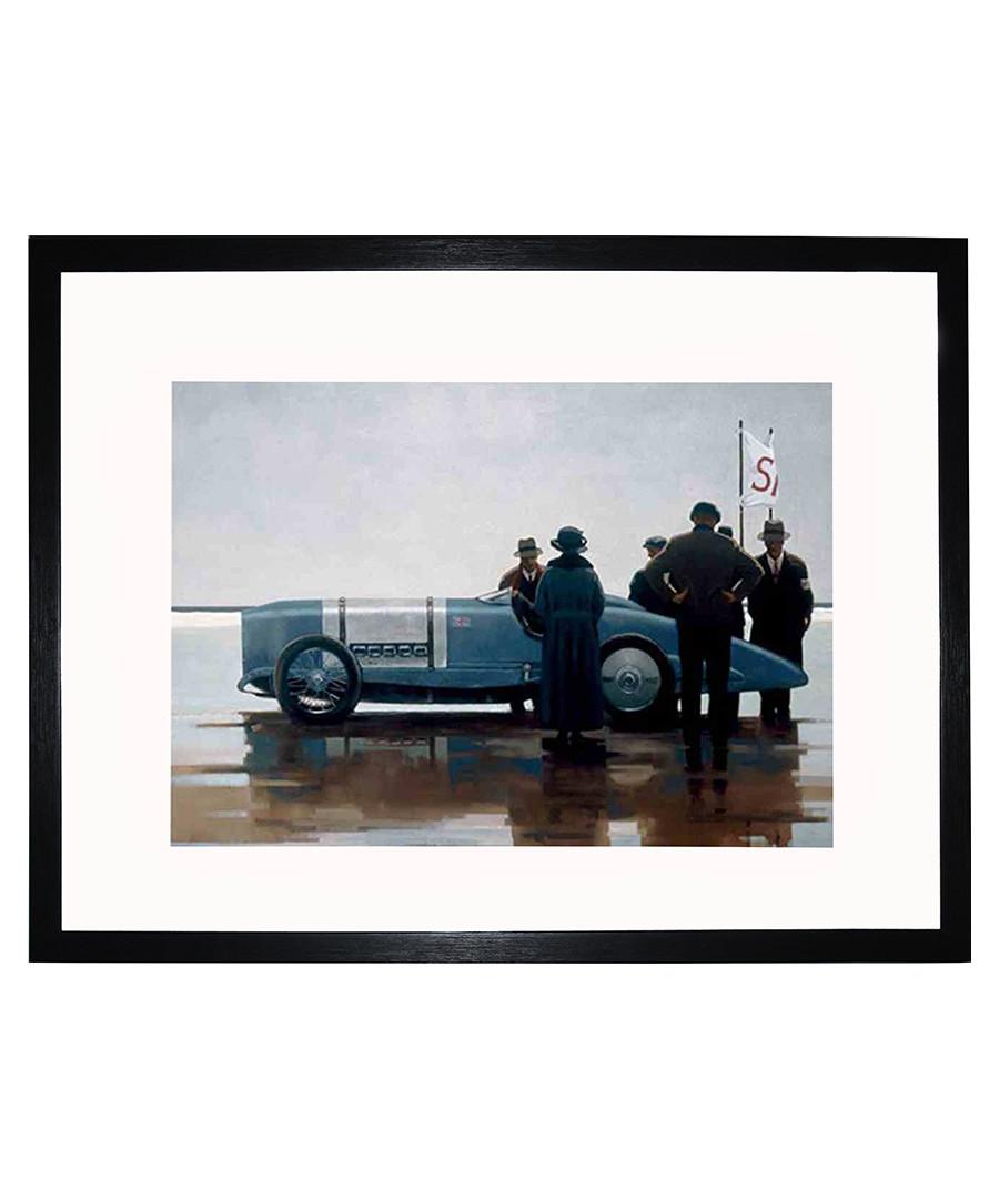 Pendine Beach framed print 35cm Sale - Jack Vettriano Art
