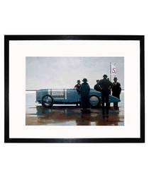 Pendine Beach framed print