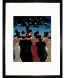 Waltzers framed print 35cm