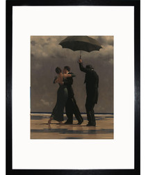 Dancer In Emerald framed print 35cm