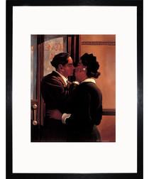 A Fond Kiss framed print 35cm
