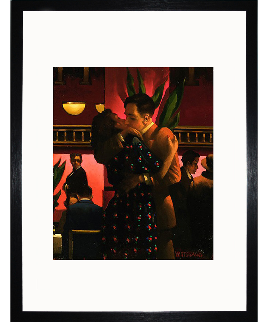 Betrayal, The First Kiss framed print Sale - Jack Vettriano Art
