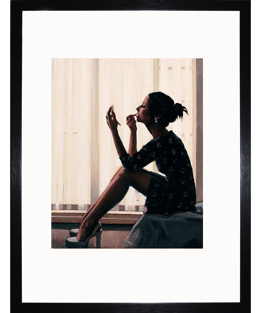 Only The Deepest Red II framed print Sale - Jack Vettriano Art
