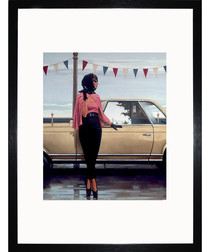 Suddenly One Summer framed print