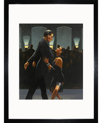 Rumba In Black framed print