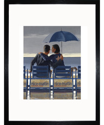 Blue Blue framed print