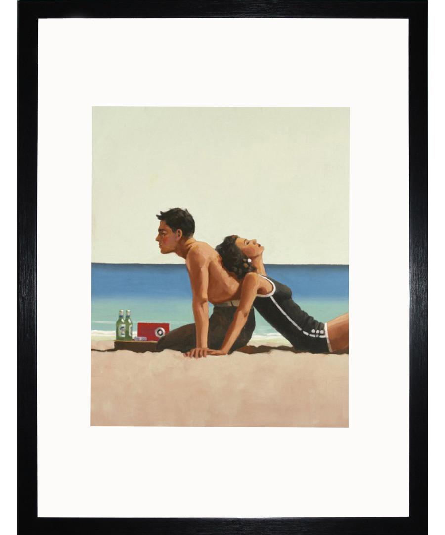 Beach Lovers framed print Sale - Jack Vettriano Art