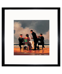 Elegy To A Dead Admiral framed print