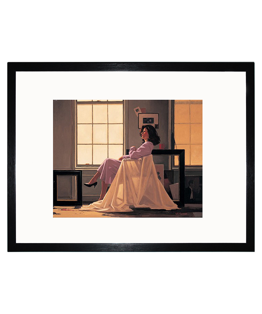 Winter Light and Lavender framed print Sale - Jack Vettriano Art