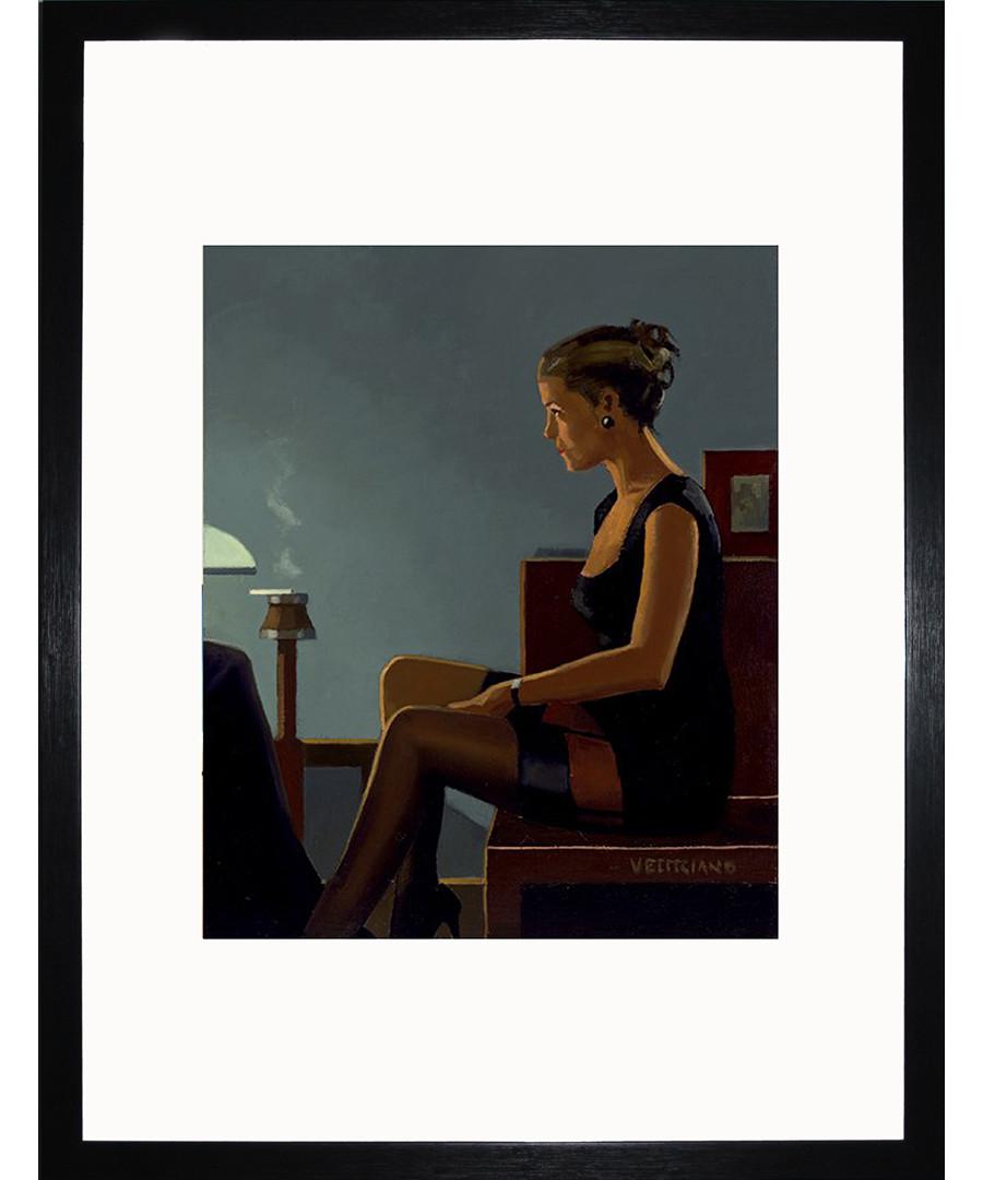 Queen Of Diamonds II framed print Sale - Jack Vettriano Art