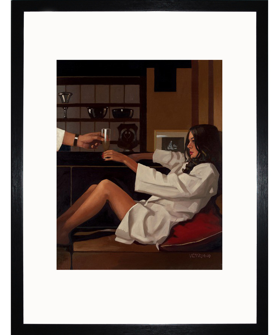 Man Of Mystery framed print Sale - Jack Vettriano Art