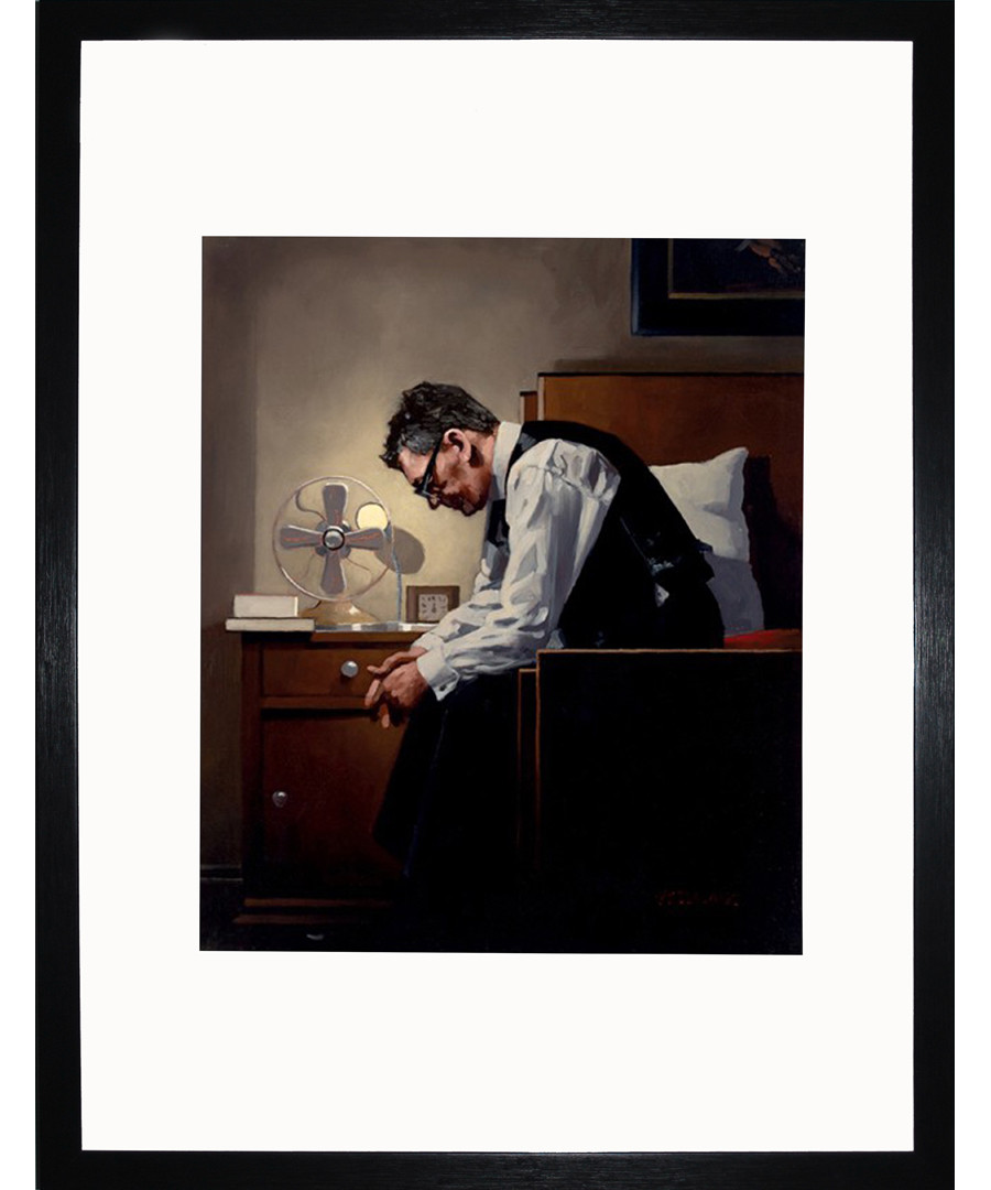The Weight framed print Sale - Jack Vettriano Art