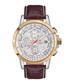 Aerotime brown leather & steel watch Sale - mathis montabon Sale