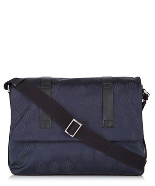 Blue flap front messenger bag Sale - Emporio Armani Sale c36c91dee9c5f