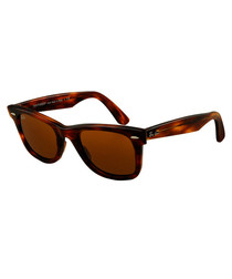 Wayfarer Havana & brown sunglasses