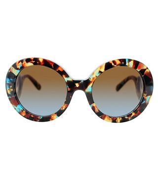 1d9b00366d1b ... order blue havana baroque round sunglasses sale prada sale 71708 7aa56