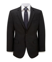 Charcoal pure wool suit