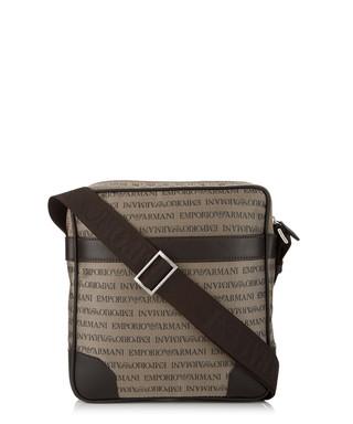 Beige leather trim cross body bag Sale - Emporio Armani Sale 68377a8d873df