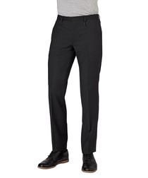 Hiart black pure wool trousers
