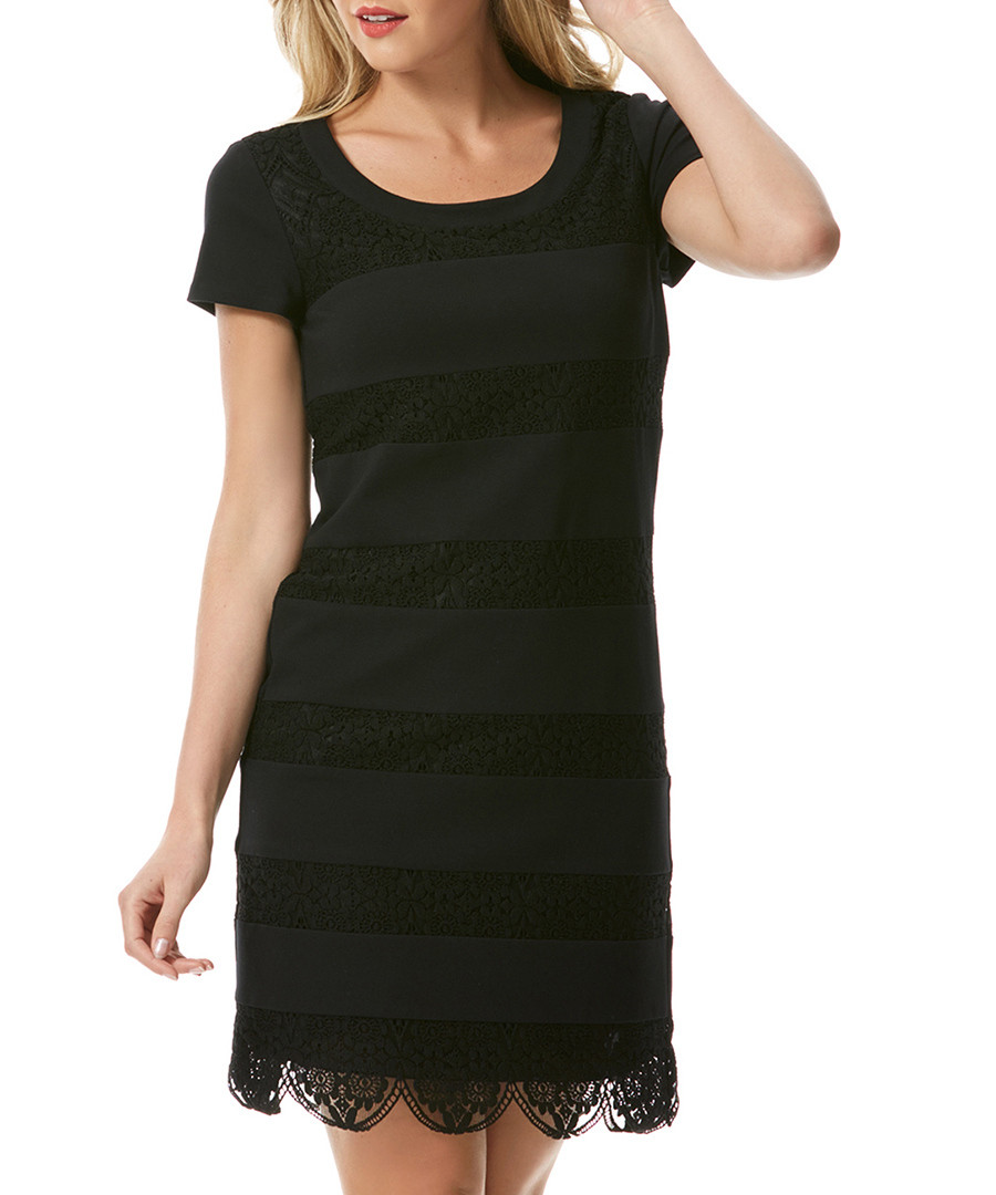 Discount Black Bumble Bee Lace Dress Secretsales