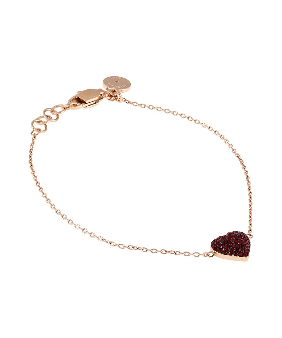 Rose gold-tone red heart bracelet Sale - Michael Kors