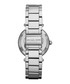 Parker silver-tone & crystal bezel watch Sale - michael kors Sale