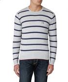 Riga grey cotton blend sweatshirt