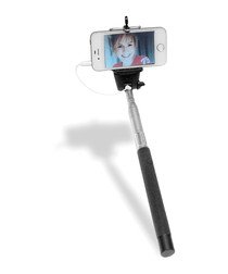 Image of Black universal selfie pole