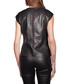 Women's Marjolaine black leather top Sale - giorgio & mario Paris Sale