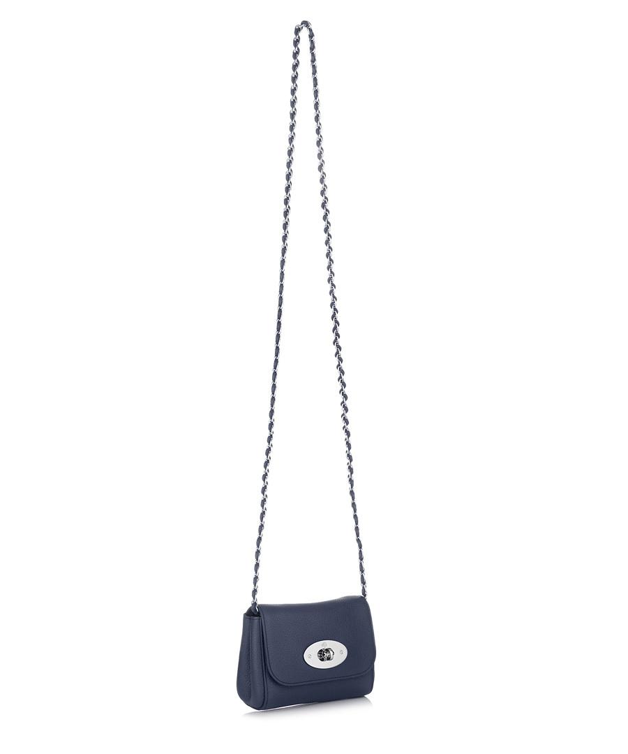 292c184e29 ... Mini Lily sea blue leather bag Sale - Mulberry ...