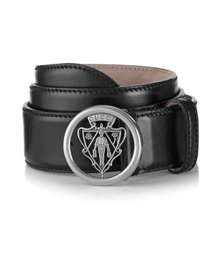 e5710695ee0 Black   silver-tone leather logo belt Sale - Gucci Sale