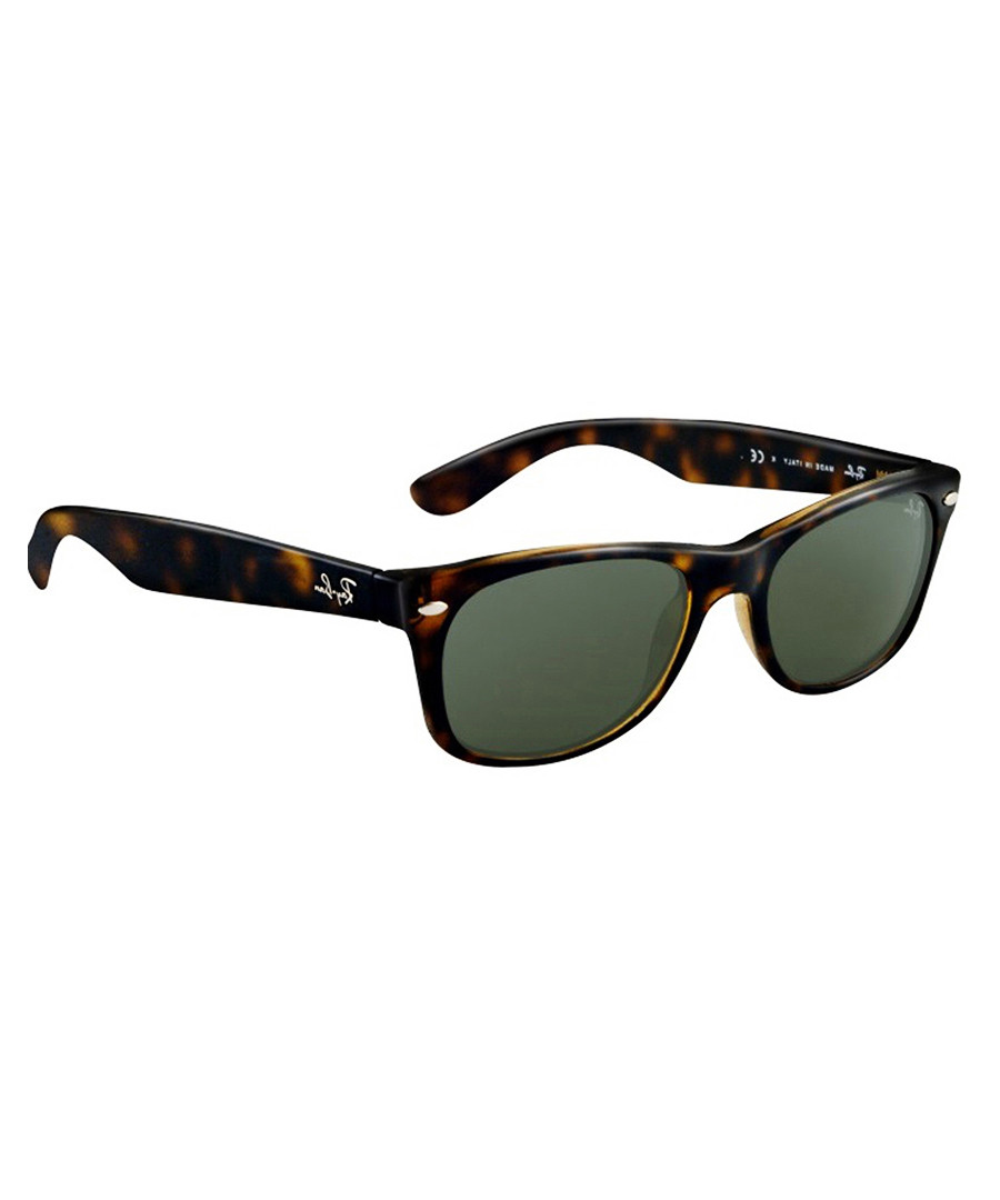 5c01c9776f7 Wayfarer dark Havana   green sunglasses Sale - RAYBAN