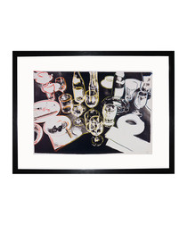 After The Party 1979 framed print